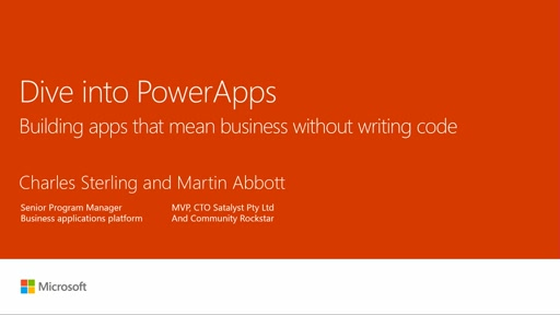 Dive into PowerApps - Build Apps That Mean Business Without Writing Code
