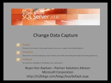 Change Data Capture (CDC) - Video