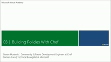 (Module 3) Building Policies with Chef ​