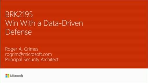 Win with a data-driven defense