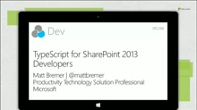 TypeScript for SharePoint 2013 Developers