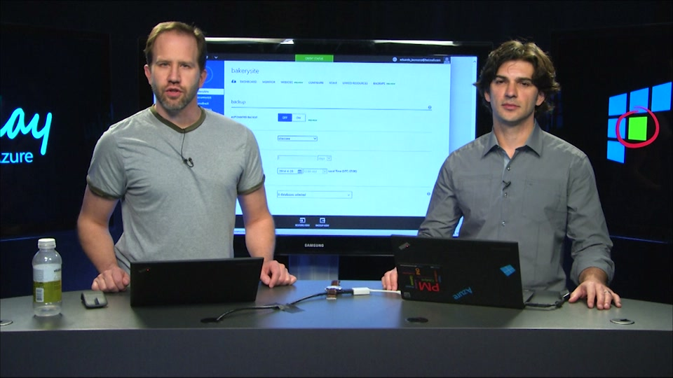 Azure WebSites - Automatic and Easy Backup