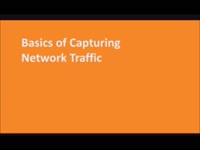 Basics of Capturing Network Traffic