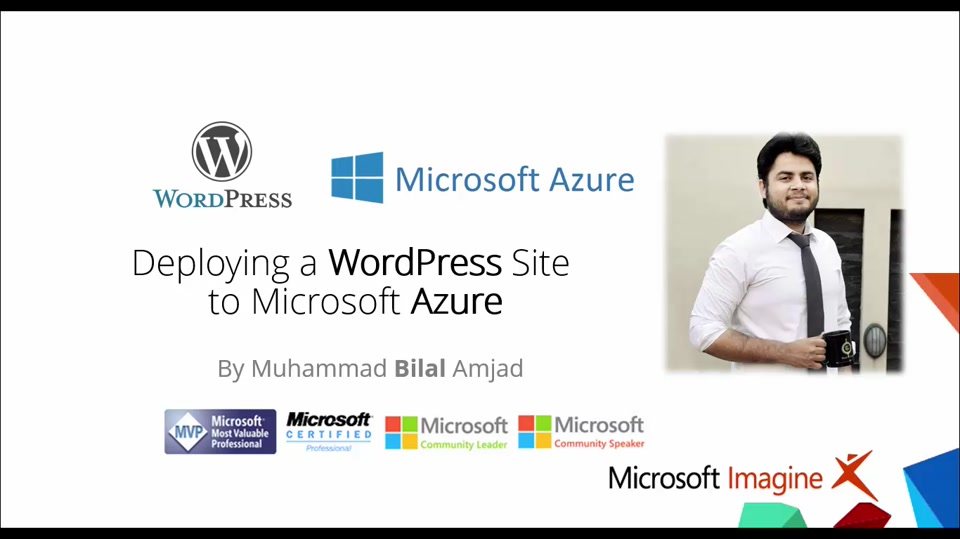Learn How to Deploy Wordpress on Azure - Hindi/Urdu Language