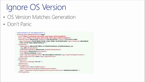 Deploying Office 2013 with App-V: (04) Caveats and Advanced Options
