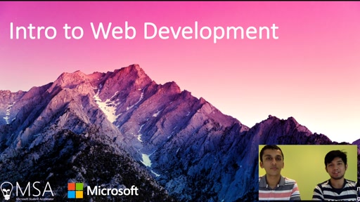 1. Introduction to Web Development