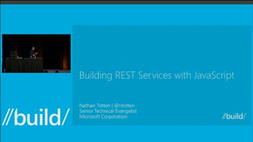 Building REST Services with JavaScript