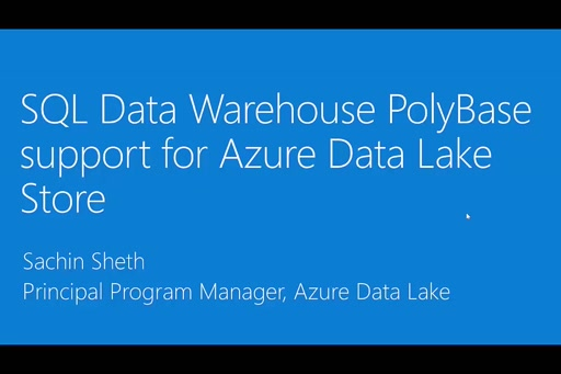 Uncover insights rapidly from petabytes of data in Azure Data Lake Store with SQL Data Warehouse PolyBase support