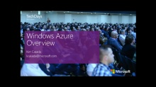 Windows Azure Overview (e)