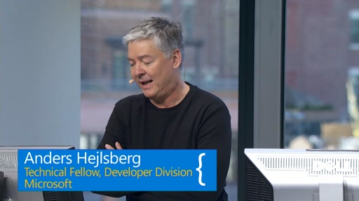 Scott Guthrie, Anders Hejlsberg and Jules Kremer from Google talk & demo VS Code