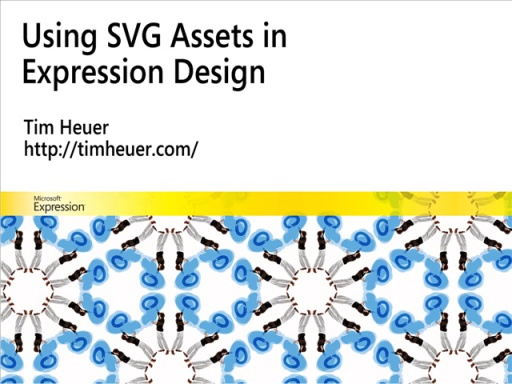 Using SVG Assets in Expression Design