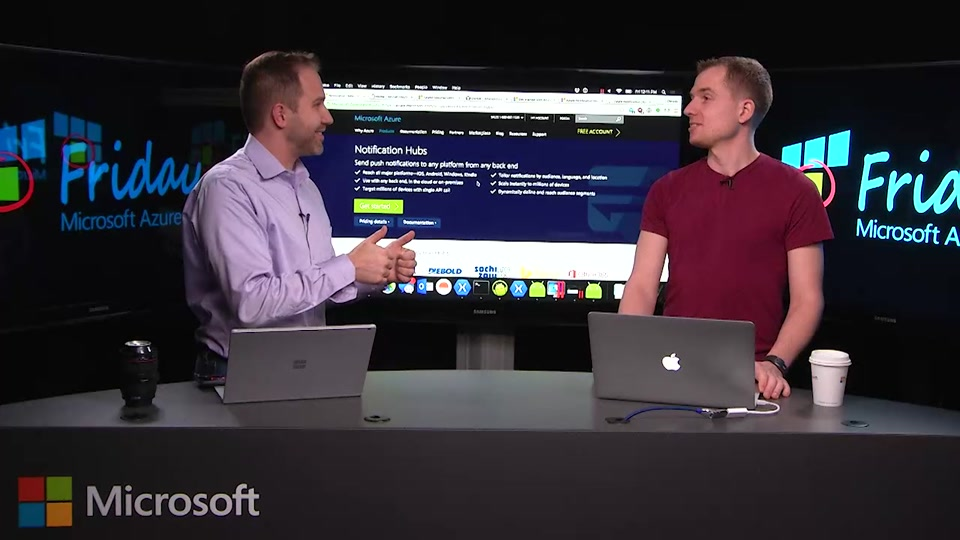 Azure Notification Hubs for Mobile Applications