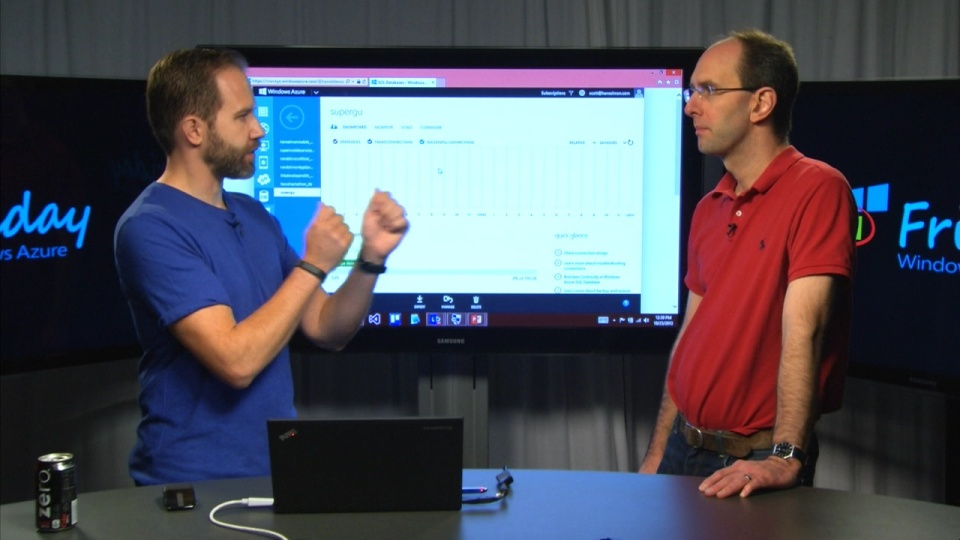 Scott Guthrie explains SQL Databases in Azure
