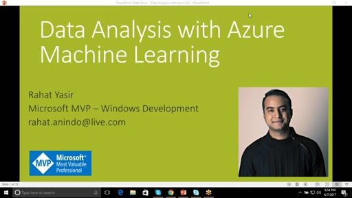 Data Analysis with Azure Machine Learning Studio