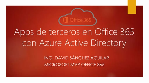 Apps de terceros en Office 365 con Azure Active Directory