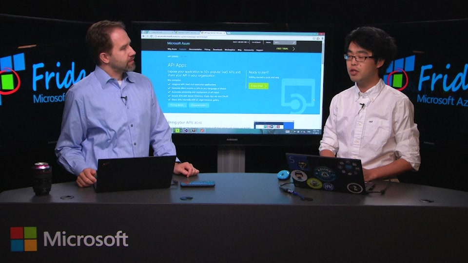 Azure API Apps 101 with Guang Yang