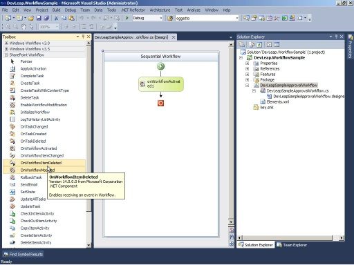 SharePoint 2010: Workflow con SharePoint 2010 e Visual Studio 2010