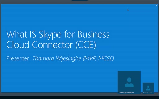 ITPRO July Session 01 - Skype for Business Cloud Connector Edition