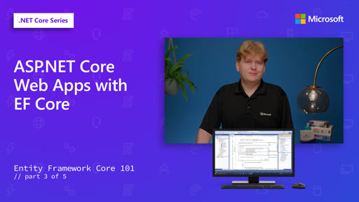 ASP.NET Core Web Apps with EF Core [3 of 5]