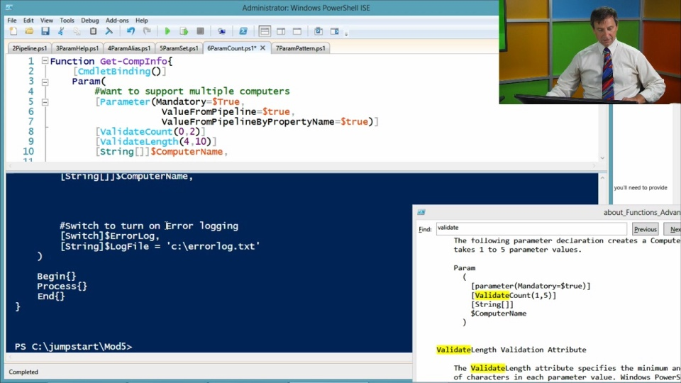 Advanced tools scripting with powershell 30 04 advanced advanced tools scripting with powershell 30 05 more on parameters maxwellsz