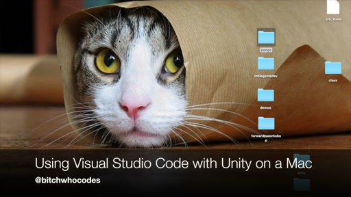 Using Visual Studio Code with Unity on OSX