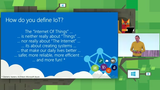 Practical using of the Internet of Things: an example of the customer from the production sector