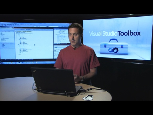 Visual Studio Toolbox: LightSwitch Starter Kits