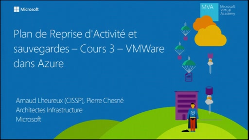 Introduction à Azure Site Recovery