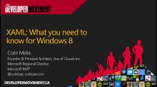 XAML: What you need to know for Windows 8