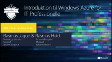 Introduktion til Windows Azure for IT Professionelle