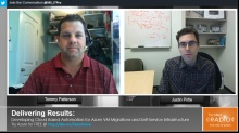 TechNet Radio: Delivering Results - Developing Cloud Based Automation for Azure VM Migrations and Self-Service Infrastructure