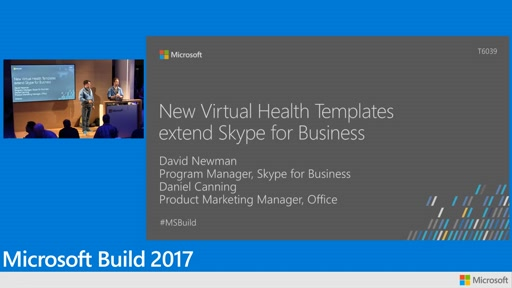 New Virtual Health Templates extend Skype for Business as platform for developers