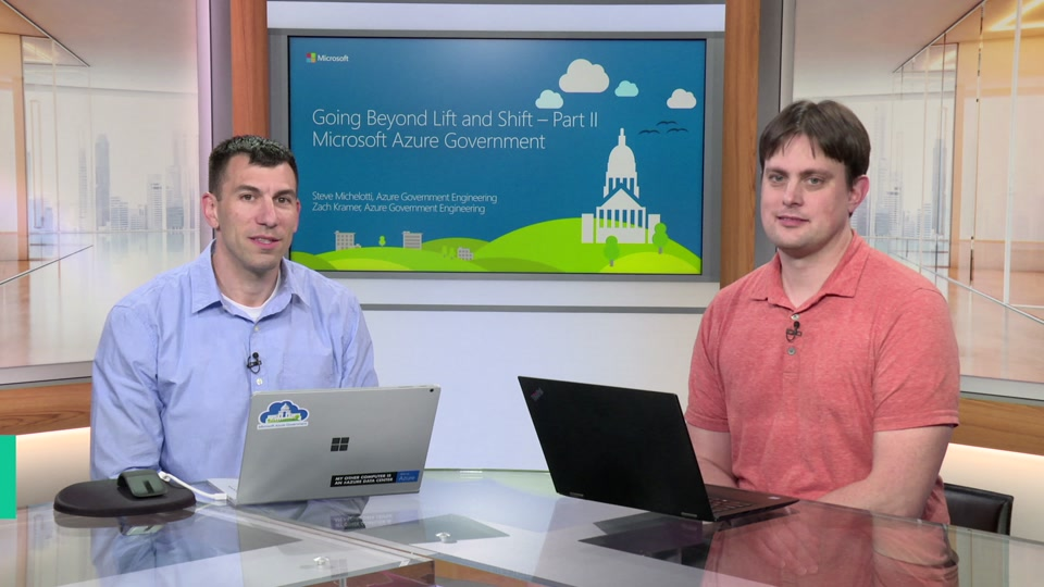 Getting Beyond Lift and Shift on Azure Gov - Part 2