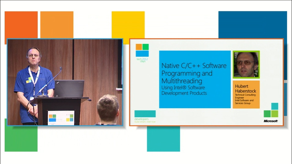 Native C/C++ Software Programming and Multithreading using Intel® Software Development Products