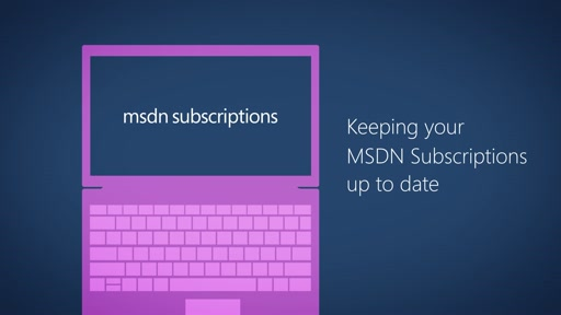Keeping your MSDN Subscriptions up to date (MPSA)