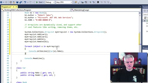 C# Fundamentals for Absolute Beginners: (22) Working with Collections