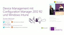 Device Management mit Configuration Manager 2012 R2 und Windows Intune