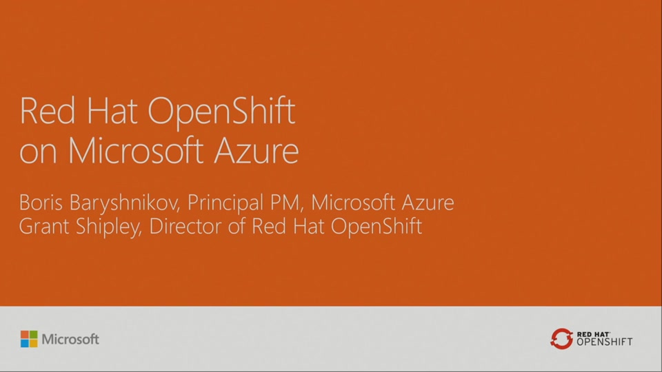 Dive into RedHat's Openshift on Microsoft Azure