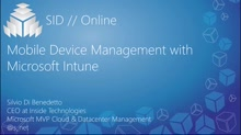 Mobile Device Management with Microsoft Intune