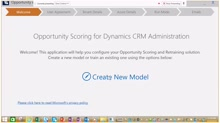 Opportunity scoring for Dynamics CRM