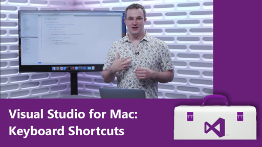 Visual Studio for Mac: Keyboard Shortcuts