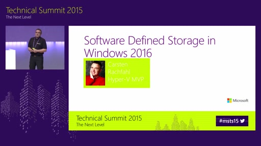 Software Defined Storage in Windows Server 2016