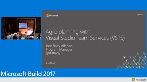 Agile planning with Visual Studio Team Services (VSTS)