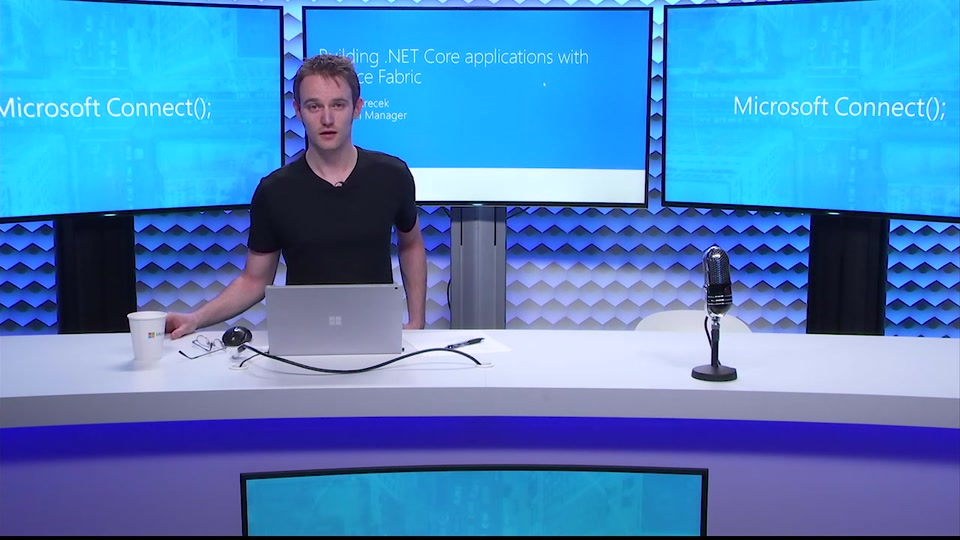 Azure: building applications using Azure Service Fabric and ASP.NET Core