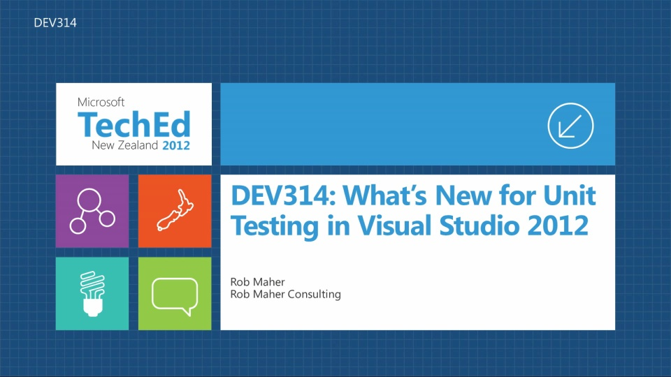 What's New for Unit Testing in Visual Studio 2012