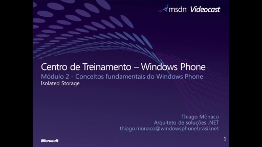 Windows Phone 7 - Isolated Storage