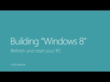Refresh and reset your PC