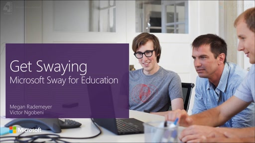 Microsoft Sway In Education