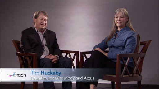 Bytes by MSDN: Kathleen Dollard and Tim Huckaby discuss Visual Studio and .NET Tips and Tricks