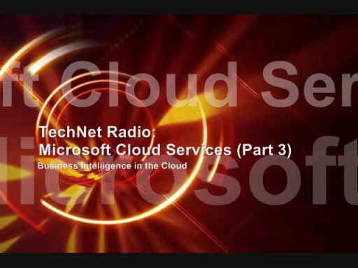 TechNet Radio: Business Intelligence in the Cloud
